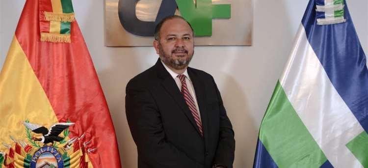 Florentino Fernández es el nuevo representante de CAF -Banco de desarrollo de América Latina- en Bolivia