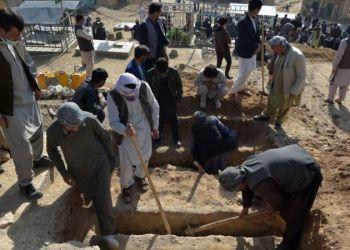 La mayoría de los muertos eran niñas. Foto: GETTY IMAGES