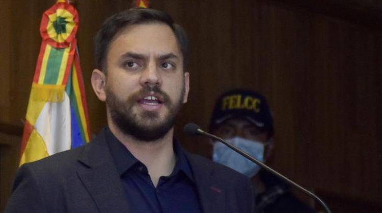Eduardo del Castillo, Ministro de Gobierno