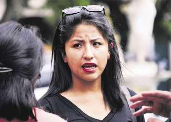 Evaliz Morales, hija del expresidente Evo Morales