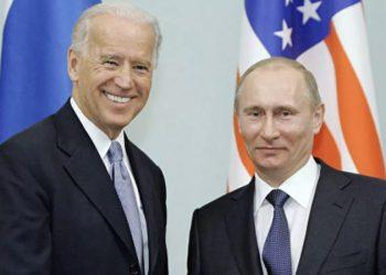 Joe Biden, presidente electo de Estados Unidos y Vladimir Putin, mandatario de Rusia. Cortesía CT News