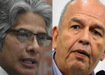 Wilfredo Chávez y Arturo Murillo