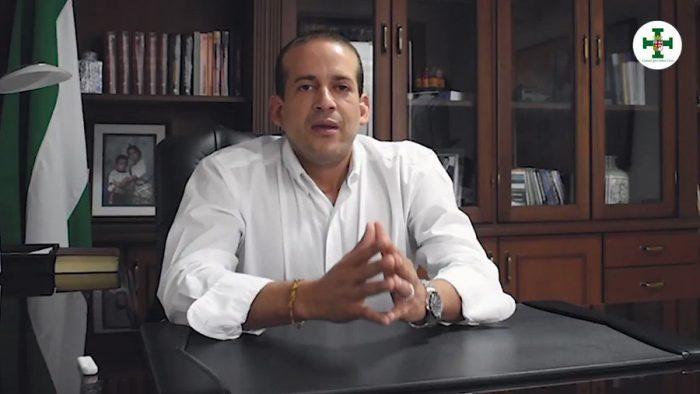 Fernando Camacho, Gobernador de Santa Cruz