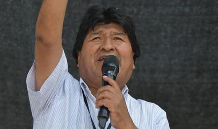 Expresidente, Evo Morales