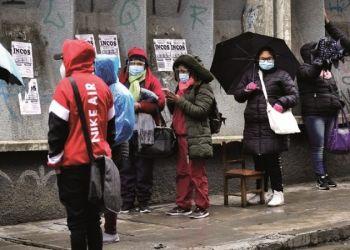 Un frente frío ingresa al país y bajan las temperaturas en el inicio del invierno en Bolivia