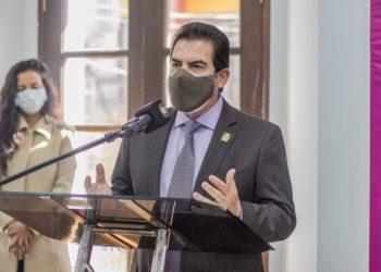 El alcalde de Cochabamba, Manfred Reyes Villa.