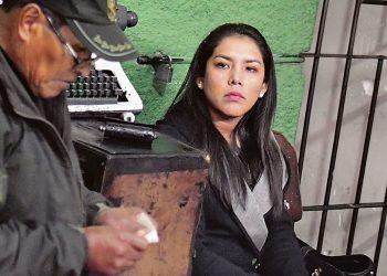 Patricia Hermosa, exjefa de gabinete de Evo Morales