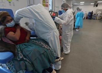 Un punto de vacunación en El Alto. FOTO archivo | EFE