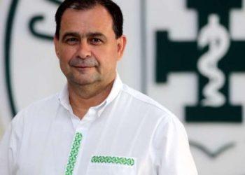 El presidente del Colegio Médico en Santa Cruz, Wilfredo Anzoátegui.