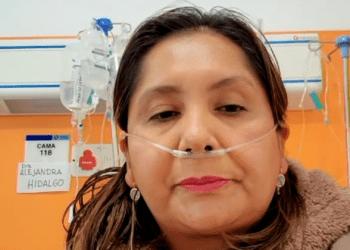 La viceministra de Seguros del Ministerio de Salud, Alejandra Hidalgo en rueda de prensa. Foto- Captura de pantalla