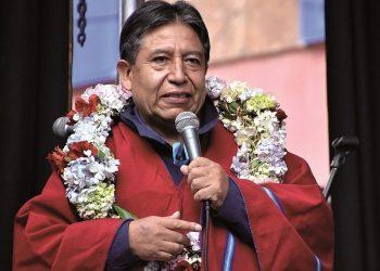 David Choquehuanca, Vicepresidente de Bolivia.