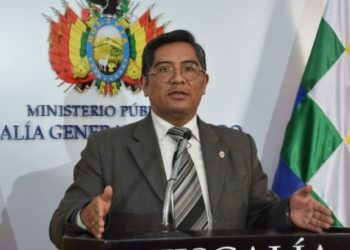 Secretario de la Fiscalía General del Estado, Edwin Quispe. / Foto: FGE.