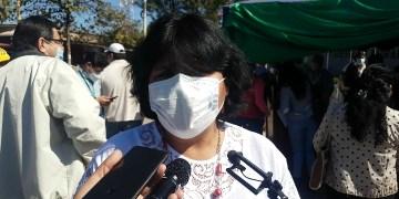 Maya Soruco, Vicegobernadora de Tarija. Foto Archivo.