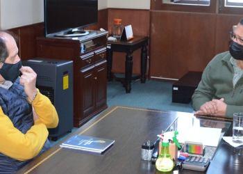 Gobernador y Embajador Argentino se reúnen en Tarija.