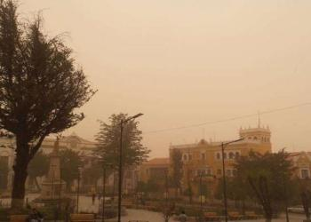 Vientos huracanados en Potosí