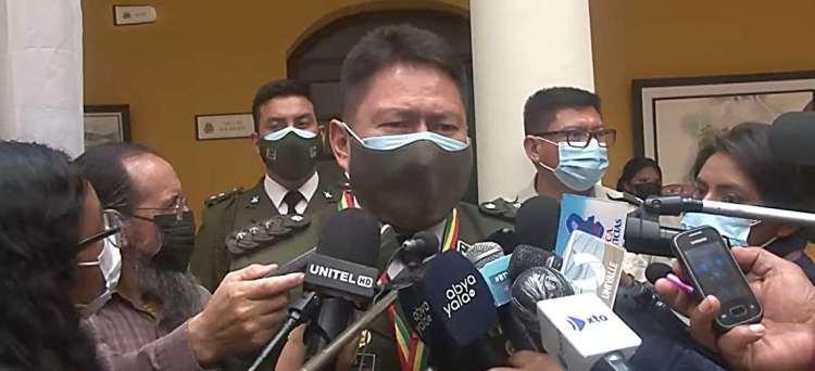 Comandante de la Policía en Cochabamba