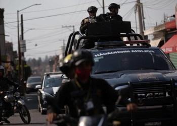 Policía de México. Foto referencial