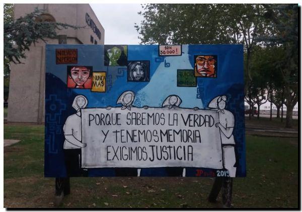 24 DE MARZO: Un Mural por el «Nunca Más»