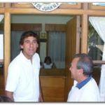 JUAN N. FERNÁNDEZ: El intendente Molina visitó la localidad