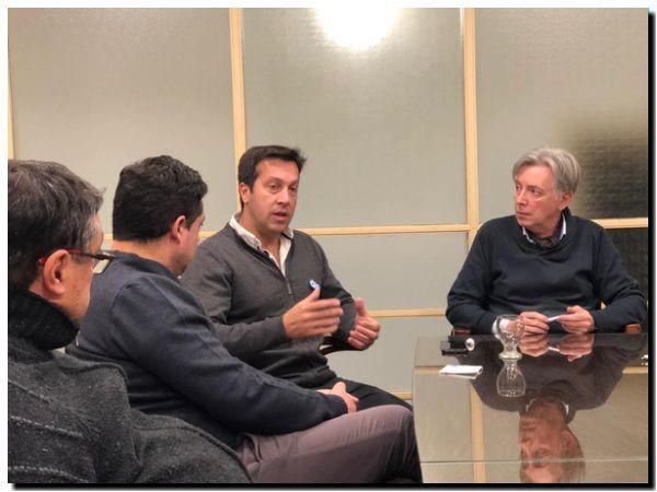PUERTO QUEQUÉN: La Cámara Comercial de Necochea se reunió con Arturo Rojas