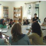JUAN N. FERNÁNDEZ: Talleres del programa Libros y Casas. Colocación de reductores de velocidad