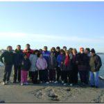 """QUEQUÉN: El """"Club de Caminantes de Quequén"""" completó la """"Ruta Escollera Norte"""""""