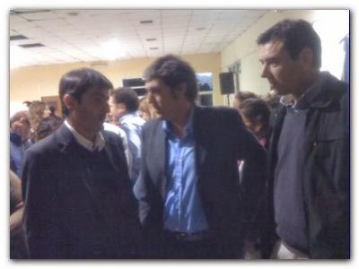 POLÍTICA: Ordoqui y Florentin acompañaron al vicegobernador Gabriel Mariotto por la 5 sección electoral