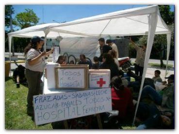 NECOCHEA: Scouts por el hospital municipal