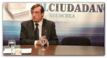 NECOCHEA: Preocupación y susto del edil alberto esnaola