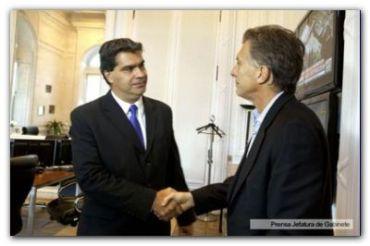 """REUNIÓN BILATERAL: Capitanich dijo """"Es muy trascendente marcar una agenda de progreso"""""""