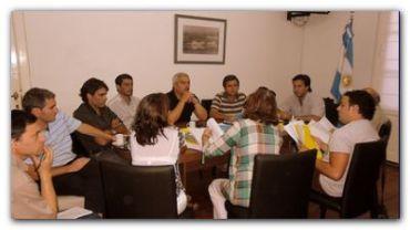 NECOCHEA: Reunión de la Comisión de Labor Parlamentaria del HCD