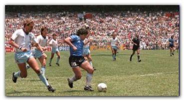 DEPORTES: Video inédito del gol de Maradona a los ingleses en México 1986