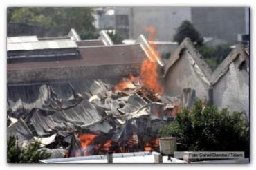 INCENDIO EN BARRACAS: Son nueve los bomberos fallecidos y quedan seis heridos internados