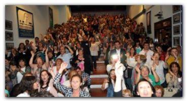 DOCENTES: La FEB reanuda su Congreso en Luján