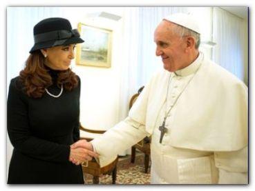 """REUNIÓN: Francisco y Cristina tendrán un encuentro a """"agenda abierta"""""""