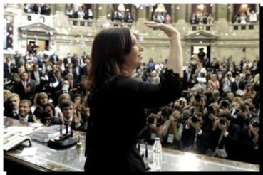 LEGISLATIVAS: Cristina abre las sesiones ordinarias del Congreso