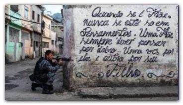 MUNDIAL 2014: El Ejército vuelve a las favelas de Río