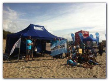 DEPORTES: Jornada inolvidable para el surf necochense