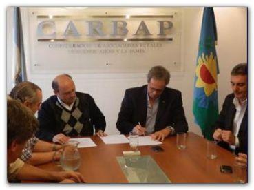 CARBAP firmó un acuerdo de cooperación con AACREA