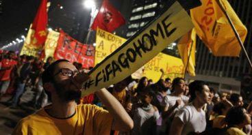 MUNDIAL 2014: Una nueva ola de protestas inquieta a Brasil a las puertas del torneo