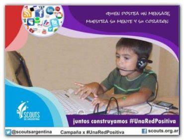 INTERNET: Lanzamiento de campaña #UnaRedPositiva