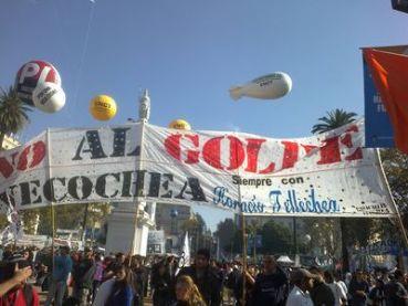 """NECOCHEA: Los golpistas, """"reserva moral"""" del distrito"""
