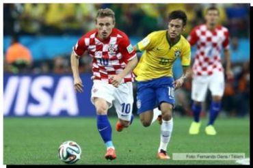 MUNDIAL 2014: Con Yuichi Nishimura como jugador número 12 ganó Brasil