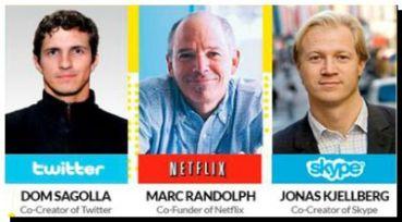 Los creadores de Skype, Twitter y Netflix llegan a Buenos Aires para disertar sobre Marketing digital