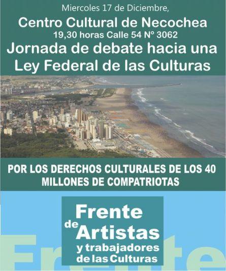 Debate por la Ley Federal de Cultura