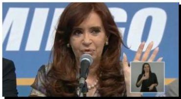 CFK levanta su imagen positiva: 60 por ciento