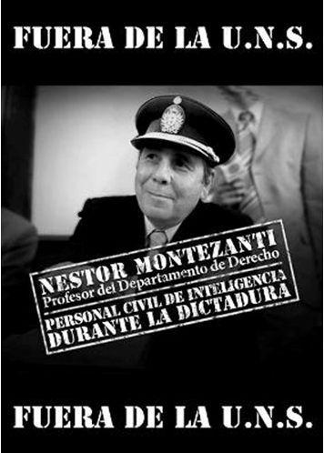 DERECHOS HUMANOS: Montezanti se va sin que lo echen