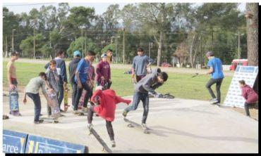 BALCARCE: Inauguran la primera pista de skate del distrito