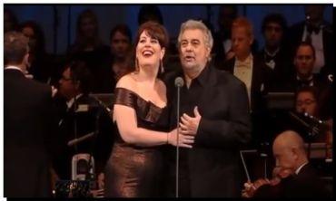 NECOCHEA: Plácido Domingo y Sondra Radvanovsky en el Rexall Centre de Toronto