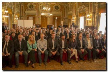 LOBERÍA: El Intendente participó de reunión con la Gobernadora y funcionarios provinciales